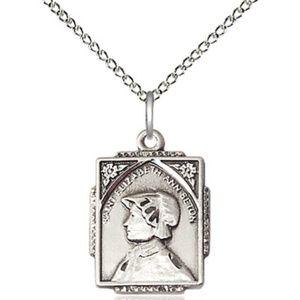 Sterling Silver St Elizabeth Ann Seton Pendant